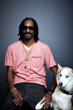 Hollywood Pets: Snoop Dogg, an owner of 11 dogs and an investor in Dog for Dog food.