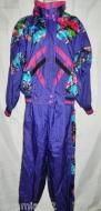 Price $59.99  EPOGEESize SmallCondition Very good pre-owned vintageRight out of the 80s.90s, two piece, lined nylon jacket and elastic waist pantstrac...