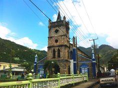 Church of Assumption Soufriere, St. Lucia