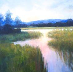 "Saatchi Art Artist Christina Dowdy; Painting, ""Dawning Reflection"" #art"