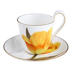 Flora Cup & Saucer, Tulip 27 cl, Royal Copenhagen