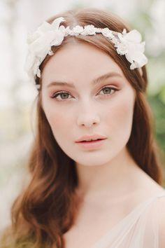 Jannie Baltzer 2014 Bridal Headpiece Collection   Taylor