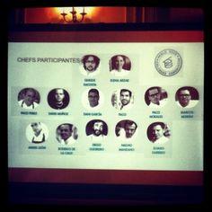 La vuelta al mundo de 13 chefs españoles cn @bculinary en #WorldTourCulinaryConnection3