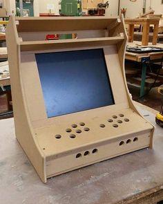 Plans for building a bartop arcade system using a Raspberry Pi