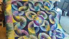 Japanese Fan, Quiltworx.com, Made by Peggy Kirk.