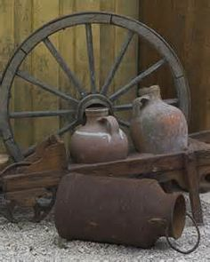 Outdoor Decor In A Rustic Wagon Would Look So Cute On The Front Porch! **  Be Sure To Check Out This Helpful Article.