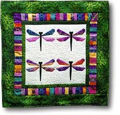 The Virginia Quilter - Quilting Patterns - Misc Patterns - Bali Dragonfly Quilt Pattern
