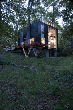 House on Poplar Avenue | Architect Magazine | McInturff Architects, Takoma Park, Maryland, Custom, Entertainment, Multifamily, Community, New Construction, Interiors, Modern, Urban, AIAMD 2015 Design Awards, AIA Maryland Design Awards 2015