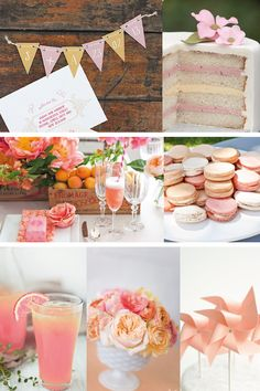 SPRING PARTY PALETTE: STRAWBERRY & APRICOT