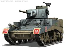 M3 Light Tank Stuart