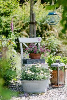 Weekend flowers and inspirations for the garden - Garden Art Sculptures Garden Fire Pit, Modern Garden Design, Diy Garden Projects, Backyard Landscaping, Florida Landscaping, Landscaping Ideas, Garden Inspiration, Garden Art, Outdoor Gardens