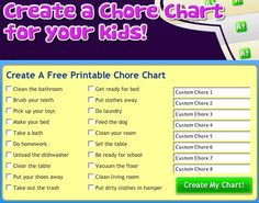 Mighty Mommy : How to Get Kids to Help Out With Chores :: Quick and Dirty Tips ™ Toddler Chores, Chores For Kids, Activities For Kids, Free Printable Chore Charts, Chore Chart Template, Chore Chart For Toddlers, Chore List, Behaviour Chart, Good Parenting