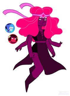 Ruby/Lapis fusion. Who does  these seriously, I love them.