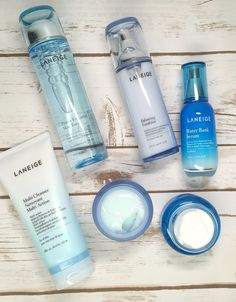Details on the LANEIGE Power of 7 Korean Beauty skin care routine available at Target. Review, details, and a giveaway to win your own LANEIGE set! #LovingLANEIGE #IC #partner
