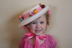 DIY Easter bonnet. The High Flying Adventures of Gramma Luvlee: In my Easter Bonnet
