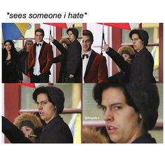 Picture for riverdale jughead fanart Riverdale Quotes, Bughead Riverdale, Riverdale Funny, Sprouse Bros, Dylan Sprouse, Film Anime, Zack E Cody, Riverdale Cole Sprouse, Movies And Series