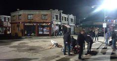 At Wrong Turn 5 shoot