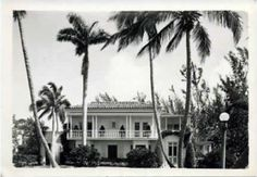 Historical photo of Ralph Norton Home -  Ann Norton Sculpture Gardens (West Palm Beach, Florida)