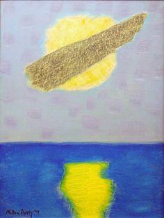 Milton Avery (American,1885-1965)Cloud Over Sun