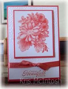 Today I am going to share with you three cards I made using the Heartfelt Blooms stamp set from the Sale-A-Bration catalogue. From January 3rd till 31st March, you can earn product from the Sale-…
