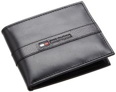 Tommy Hilfiger Men's Ranger Passcase, Black, One Size