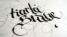 Calligraphy practice stuff by Erik Gonzalez