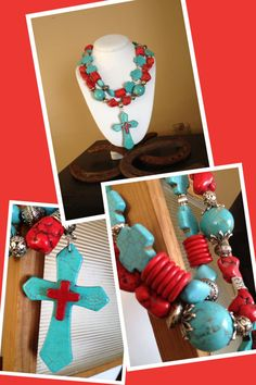 Chunky Cowgirl Western Necklace by CowgirlInspiration on Etsy, $55.00