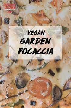 Combine your love for baking and the arts with this vegan garden focaccia recipe. You'll learn how to create this beautiful (and delicious!) work of art. Focaccia Recipe, Cooking Classes, Vegan, Baking, Create, Garden, Artwork, Recipes, Beautiful