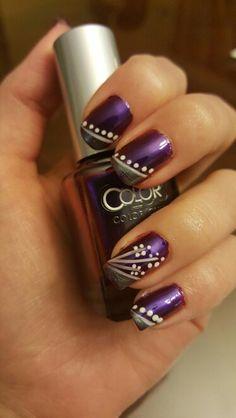 Purple floral by Kayla W.