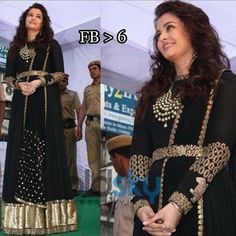 Aishwarya rai bachchan celebrity designer suit Fabric Info : TOP : satin georget DUPPATA : 60gm with heavy work BOTTOM : rota (semi santoon ) SIZE : 42 XL LENGTH : 56  Sale Price : 2680 INR Only ! #Booknow  CASH ON DELIVERY Available In India ! World Wide Shipping !  For orders / enquiry  WhatsApp @ 91-9054562754 Or Inbox Us  Worldwide Shipping !  #SHOPNOW  #dresscode #ethnic #saree #makeupjunkie #dressmurah #sareecantik #dressph #bridaljewelry #blogto #fashionmurah #beautyfull…