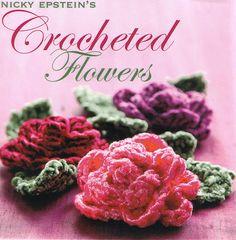 Nicky Epstein Crocheted flowers