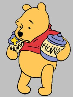 Winnie The Pooh Cartoon, Winnie The Pooh Pictures, Winne The Pooh, Cute Winnie The Pooh, Winnie The Pooh Quotes, Winnie The Pooh Friends, Disney Art, Walt Disney, Mickey Mouse Images