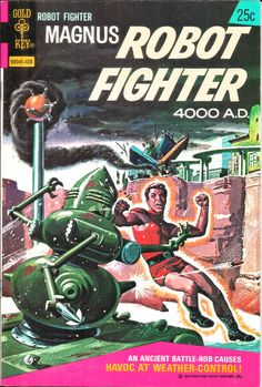 Robot Fighter comic book (1974)