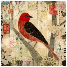 "Judy Paul Tagged ""birds"" - Austin Art Garage"