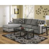 light grey is so pretty... but the little...  Found it at Wayfair - Waverly Sectional