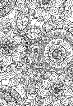 Coloring pages - Flowers