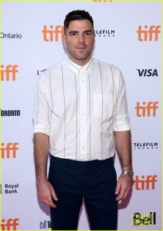 Zachary Quinto (y'know...Spock) at our annual film festival yesterday. Interesting shirt that would be cool with at least a dark brown, blue or black kit (need a slimmer cut or stays tho).