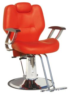 Barber chair. Can be put down to lift the hairdressing chair T - 31402