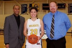 Senior Erin O'Malley becomes 7th player at Cazenovia College in Women's Basketball to record 1,000 points. #WildcatsAthletics