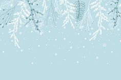 Baby Blue Background, Flat Background, Scenery Background, Winter Background, Landscape Background, Landscape Wallpaper, Vector Background, Snowfall Wallpaper, Winter Wallpaper
