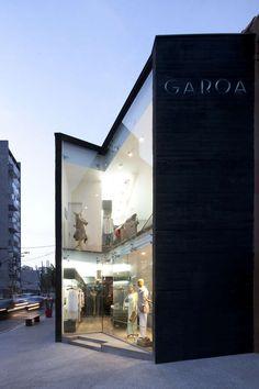 Double Height Glass Facade