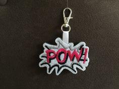 """Taschenanhänger - Schlüssel- / Taschenanhänger """"POW!"""" - ein Designerstück von Madamme-Julie bei DaWanda Charms, Designer, Etsy, Personalized Items, Store, Larger, Shop"""