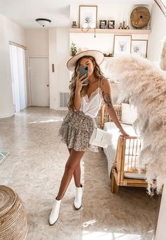 Trendy Summer Outfits, Summer Fashion Outfits, Cute Casual Outfits, Boho Outfits, Spring Summer Fashion, Outfit Summer, Style Summer, Summer Styles, Country Outfits