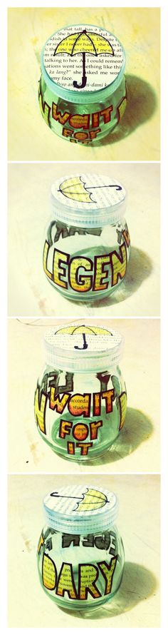 Legen- wait for it - dary Legendary Jar #DIY #HIMYM #Gift Ideas