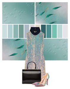 """""""Under the Sea"""" by cherieaustin ❤ liked on Polyvore featuring 3.1 Phillip Lim, Simone Rocha and Christian Louboutin"""