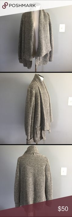 J.Crew thick sweater coat Amazing sweater. Super warm and heavy. Worn once. 100% cotton. Not factory. J. Crew Sweaters Cardigans