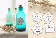 TRANSFERS :: 4 FREE Vintage Apothecary Labels | #eatdrinkchic #transfers