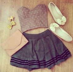 Omg little ariana grande outfit for me