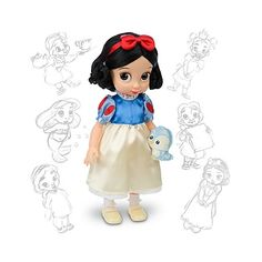 Disney Animators' Collection Snow White Doll (76 BRL) ❤ liked on Polyvore featuring toys, disney, baby, dolls and snow white