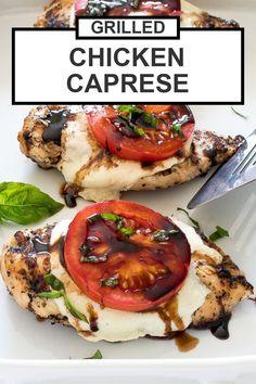 Easy Chicken Recipes, Easy Dinner Recipes, Easy Meals, Dinner Ideas, Corn Recipes, Salad Recipes, Chicken Recipes For Dinner, Healthy Grilled Chicken Recipes, Healthy Foods